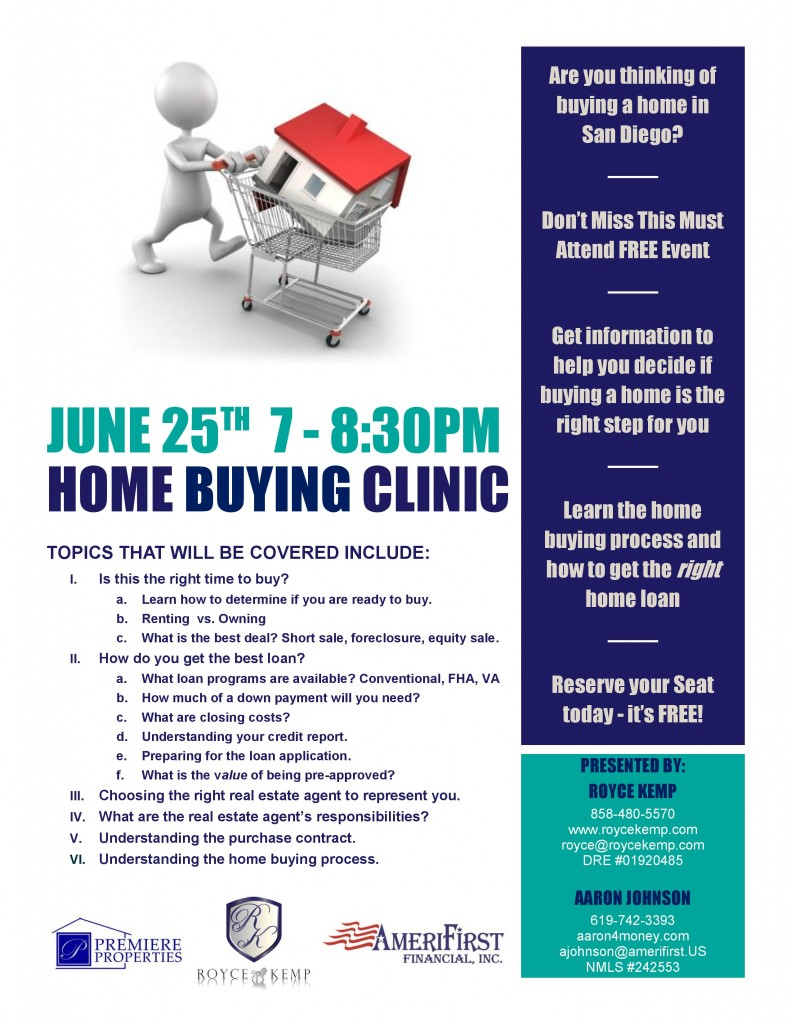 home buyer clinic - roycekemp.com